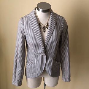 French connection stripped blazer